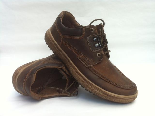 Férfi barna bőr cipő - Ede cipőbolt - gyógypapucs 740fafbcc3